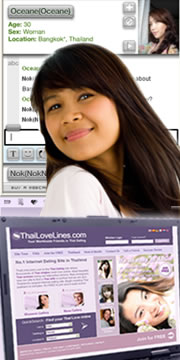Find Love in Thailand with our great dating site but it requires you to actively use our dating tools