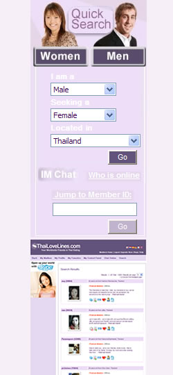thai love lines login