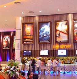 Siam Paragon cinema complex in Bangkok is worth a visit. Thailand offers western convenience with a unique approach to everything.