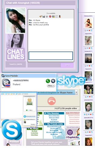 Online dating first skype chat